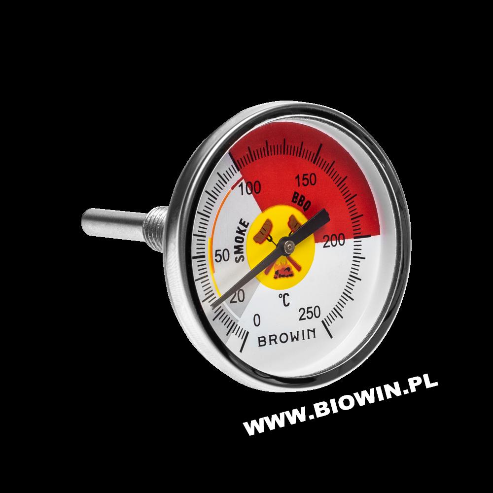 Барбекю термометр - циферблат, 0 - 250 ° C