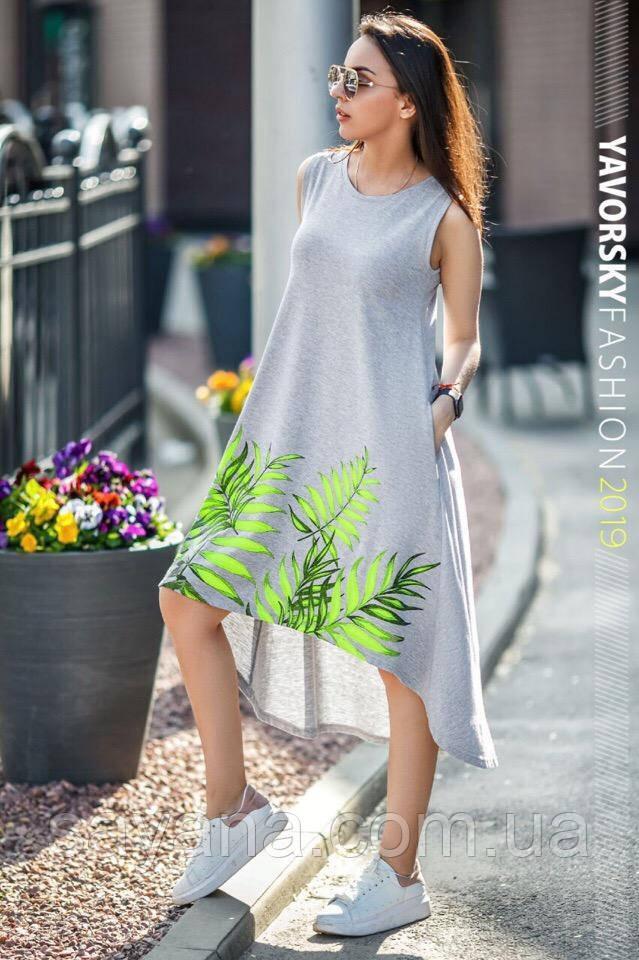 """Женское легкое платье """"Лада"""" в расцветках. ВС-10-0519"""