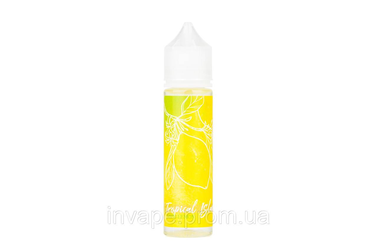 Жидкость для электронных сигарет Tropical Island - Ripe Lemon (Спелый лимон) 60мл, 3 мг