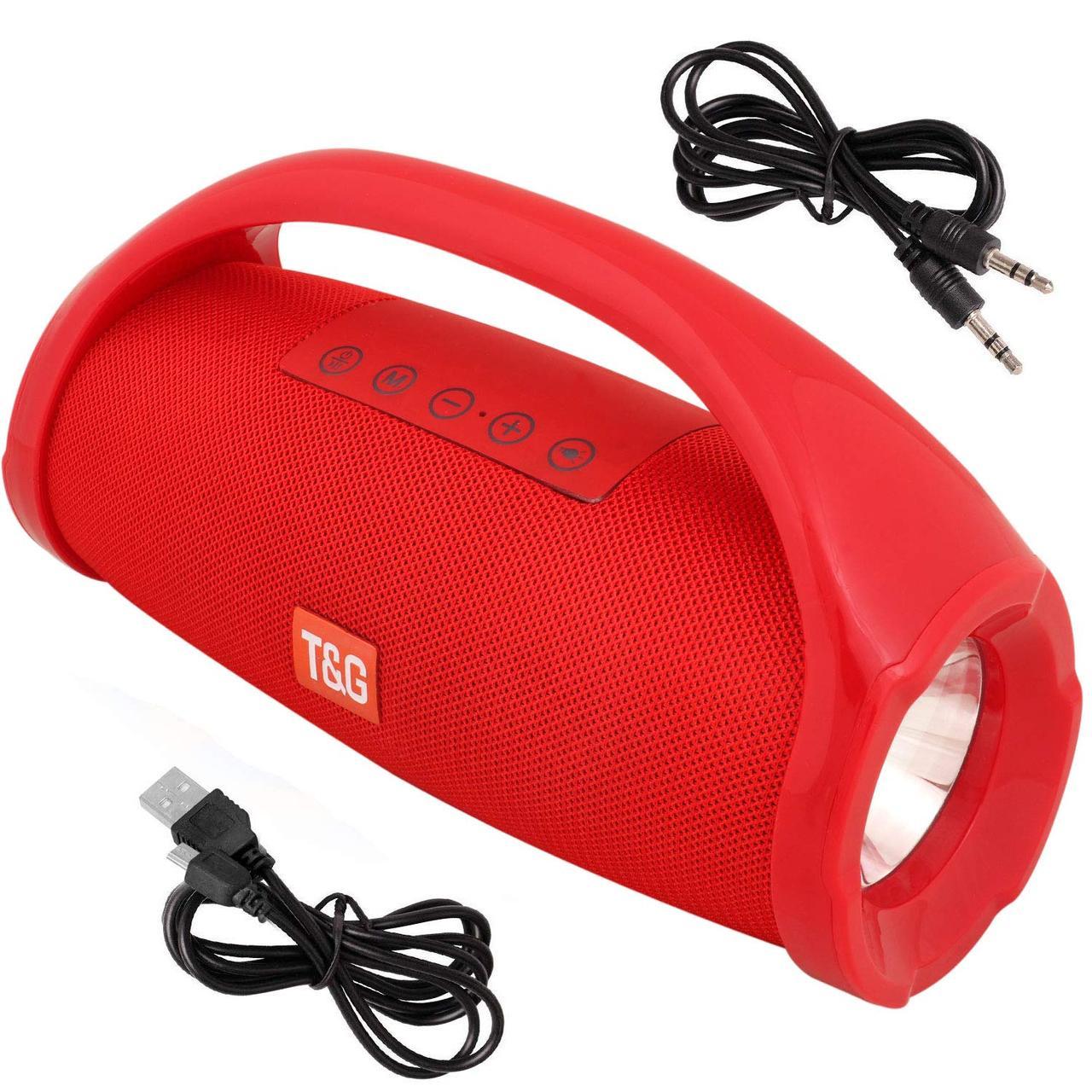 Портативная колонка TG-136 red