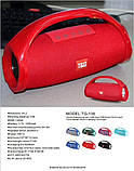 Портативная колонка TG-136 red, фото 5