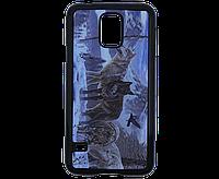 Чехол для мобильного телефона SAMSUNG Galaxy S5, рисунок - волки