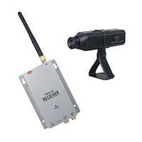 Комплект из беспроводной автономной камеры 2.4 Ghz c аккумулятором + приёмник видеосигнала (мод. CRP-201 kit), фото 1