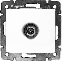 Механизм розетки TV проходной, 2400 МГц 14дб белый Legrand Valena