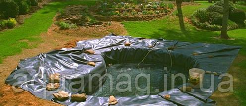 AGRILAC 1 мм, ширина 2м (Италия) зеленая пленка ПВХ для пруда, озера, водоема, ставка, водопада, фото 2