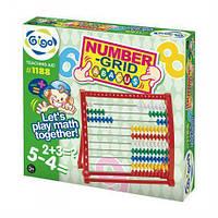 Набор для обучения Gigo Счеты для детей от 3 лет - поможет  познать и полюбить малышам математику