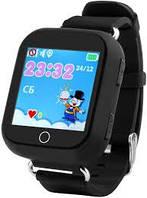 Смарт-часы сGPS, Wi-Fi, Smart Baby Watch Q90 Черные