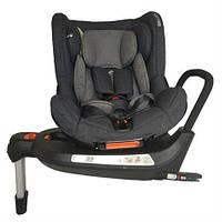 Автокресло Welldon Safe Rotate FIX (графитовый/серый) для новорожденных и детей возрастом до 4 лет