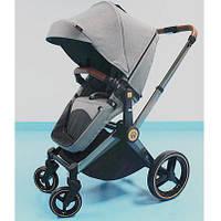 Детская коляска Welldon 2 в 1 (графитовый) - коляска-трансформер 2 в 1 прогулочный блок и люлька
