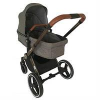 Детская коляска Welldon 2 в 1 (серый) трансформер - практичная и надежная коляска
