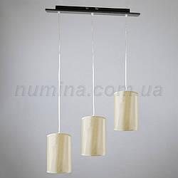 Люстра подвесная на три лампы 1-A0193/3P DK+WT