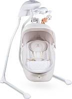 Укачивающий центр (колыбель) для младенцев Lionelo Henny с капюшоном