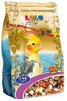 LoLo Pets PREMIUM for COCKATIEL Премиум корм для средних попугаев