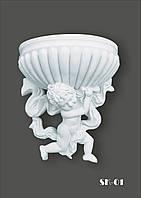 Підвісна скульптура з гіпсу Купідон