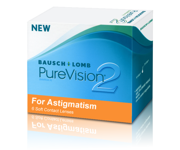 Контактная линза PureVision 2 HD for Astigmatism (1 месяц)