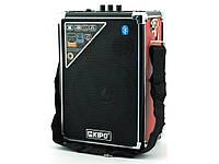 Колонка-чемодан с караоке Kipo KB-Q2 20W | AG310051