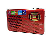 Радио Golon RX-992. FM, MP3 проигрыватель, LED фонарик (992), red | AG310058