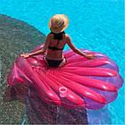 Надувной матрас-плотик розовая ракушка жемчужина, фото 4