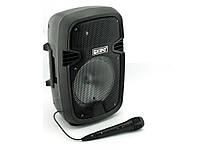Большая блютуз колонка чемодан, уличная акустика, колонка Kipo О5 20W, FM MP3 | AG310265