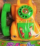 Каталка машина-телефон на шнурке в кульке.., фото 2