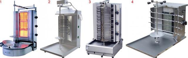 аппараты для приготовления шаурмы