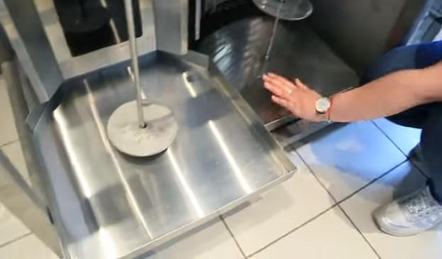 аппараты для приготовления шаурмы поддон