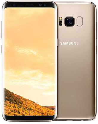 Смартфон Samsung Galaxy S8+ 64GB Gold (SM-G955FZDD)