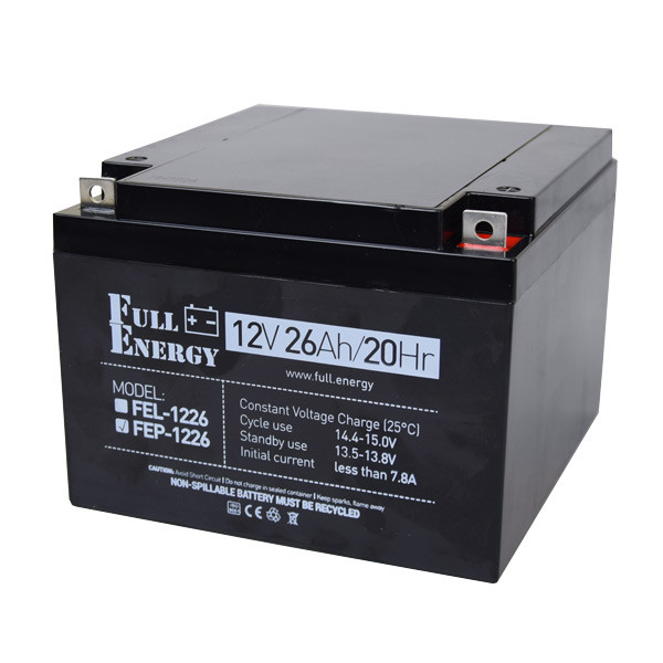 Аккумулятор Full Energy FEP-1226 12V 26AH