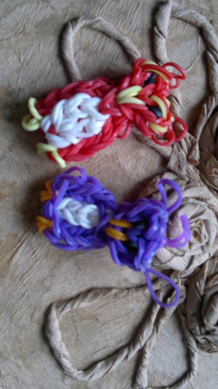 Изделия из резинок Rainbow Loom  2