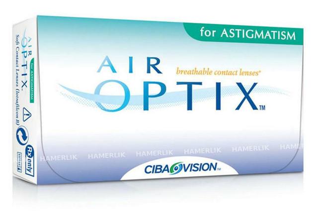 Контактная линза Air Optix Aqua  for Astigmatism