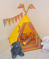 Детский игровой вигвам, палатка, шатер, детский домик, фото 1