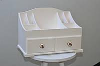 Комод органайзер для косметики белого цвета, фото 1