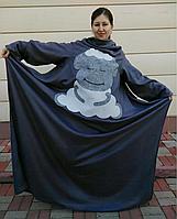 Плед с рукавами (кигуруми)