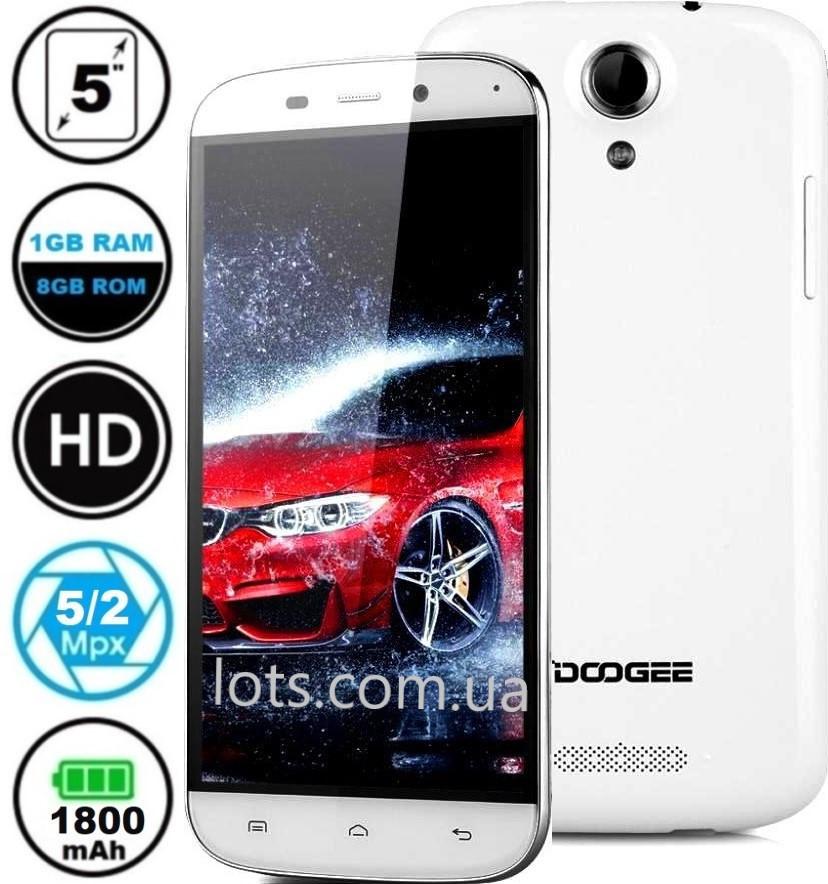 Смартфон Doogee Y100X 1/8Gb White