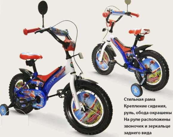 """Велосипед  детский  """"Самолёты"""" 14""""  141403-J"""