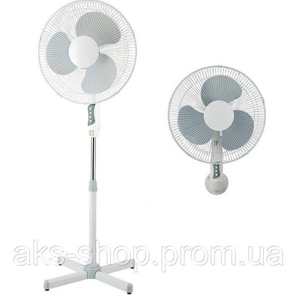 Вентилятор Maestro MR 902, 3 скорости, 2 в 1 (настенный / напольный)