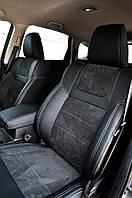 Чехлы Leather Style для Land Rover Freelander (Лэнд Ровер Фрилендер) 3D 2006-2014 г. MW Brathers.