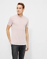 Мужская поло розовая Kington stretch от Tailored & Originalsв размере XXL