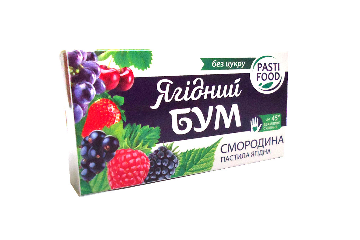 Пастила Яблуко + Смородина / 50 г