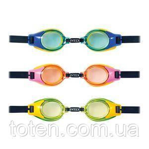 Окуляри для плавання Intex 55684 від 8 років, 3 кольори