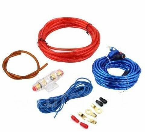 Комплект кабелей для подключения сабвуфера(кабель усилителя)