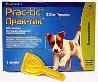 Prac-tic  капли для собак весом от 4,5 до 11 кг