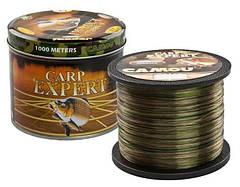 Леска рыболовная 1000 метров Carp Expert радуга 0.25mm 8.9 кг оригинал