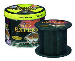 Леска рыболовная 1000 метров Carp Expert черная 0.25mm 8.9 кг оригинал