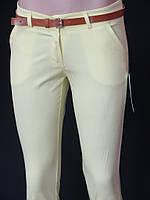 Девичьи брюки с карманами