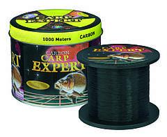 Леска рыболовная 1000 метров Carp Expert черная 0.35mm 14.9 кг оригинал
