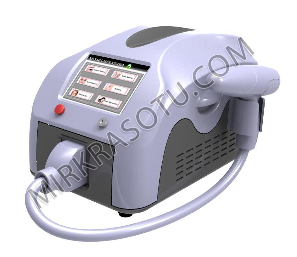 Портативный  Аппарат Qant (IPL квантовый+ND:YAG лазер-удаление тату)