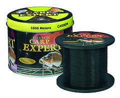 Леска рыболовная 1000 метров Carp Expert черная 0.4mm 18.7 кг оригинал