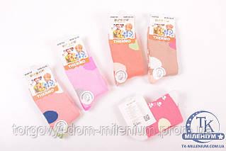 Носки для девочки махровые с тормозами  Aura Via размеры 24-35 GVN722