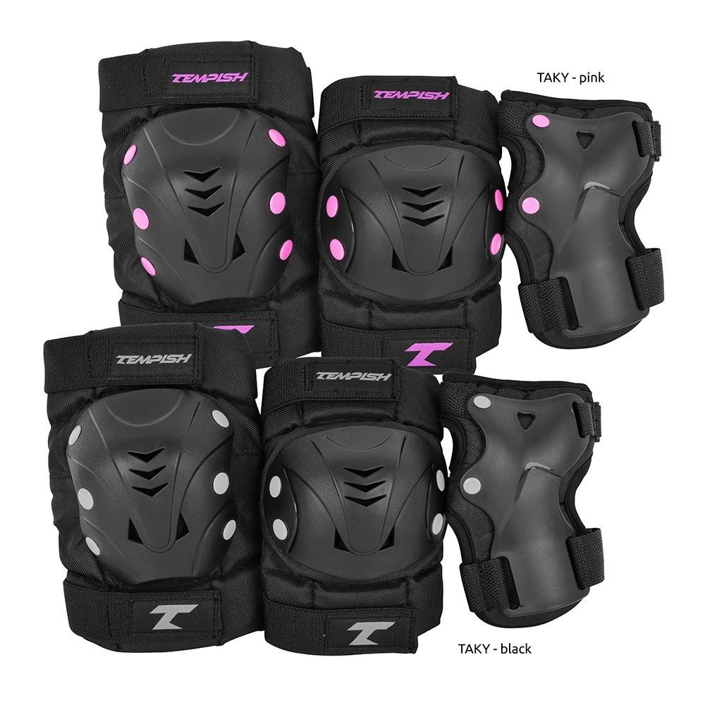 Комплект защиты Tempish Taky pink (наколенники, налокотники, напульсники) (AS)